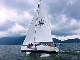 深圳七星湾游艇会美人鱼帆船培训中心 帆船考证 专业教练帆船培训