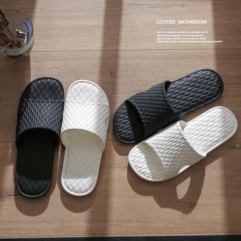 拖鞋男士夏季室内情侣家居家用防滑软底洗澡浴