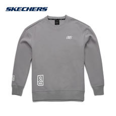 Skechers Skechers men and women new idol trainers with a paragraph sweater sweater loose long-sleeved sweatshirts
