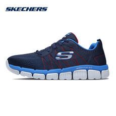 Skechers Skechers boys shoes new lightweight children's shoes non-slip shock absorption sports shoes 97631L