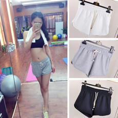 Summer sports pants cotton pajamas ladies sports running yoga large size loose hot pants casual shorts yoga pants