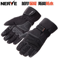 Germany NERVE motorcycle gloves winter riding warm waterproof windproof shatter-resistant knight thick locomotive electric male