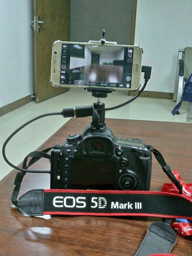 手机相机取景器佳能单反低机位摄影手机变大屏翻转屏手机监视器