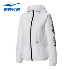Hongxing Erke women's sports shirt official authentic 18 spring new casual jacket thin shirt casual clothes