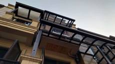 Qiaozhi window awning balcony awning sun room canopy waterproof shed 15683830389 Chongqing villa terrace