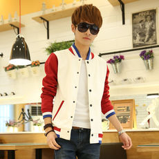 Cheap sweater male students spring and summer jacket men's clothing autumn thin coat casual sports coat autumn tide