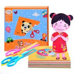 儿童剪纸手工 初级艺术折纸幼儿园简单益智7-10岁小学生叠纸宝宝