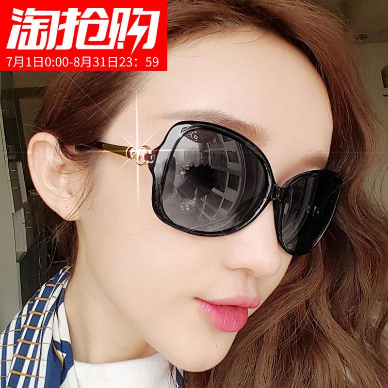 新款时尚太阳镜欧美大牌YSL女士墨镜个性猫眼流行街拍潮人眼镜401