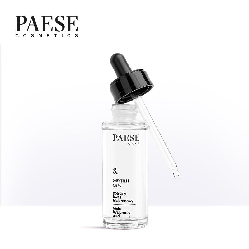 波兰PAESE派斯玻尿酸原液精华补水保湿精华液面部涂抹旗舰店正品