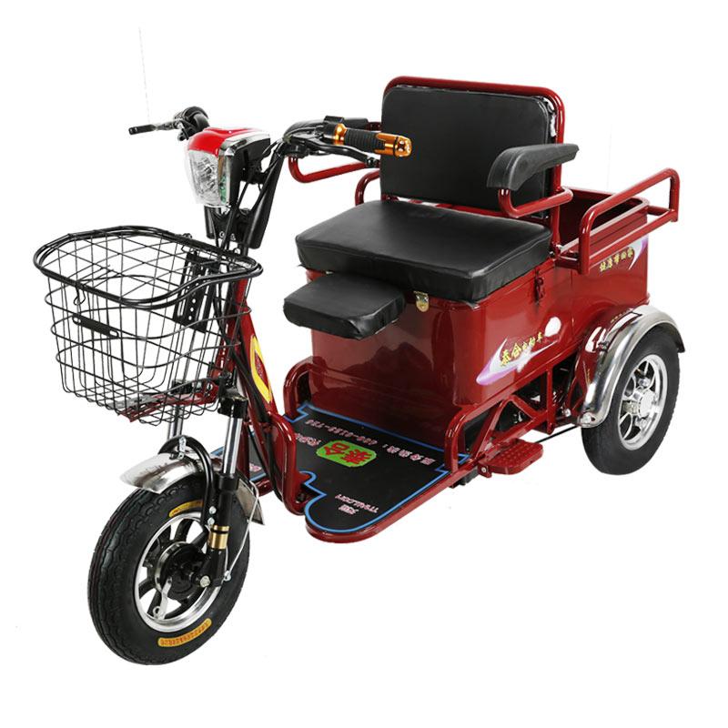 电动三轮车接送孩子成人家用新款小型休闲老年老人电瓶三轮车拉货