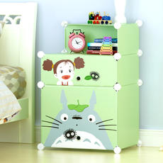 Bedside table specials within 50 yuan simple modern locker assembly multifunctional plastic bedside cabinet storage cabinet