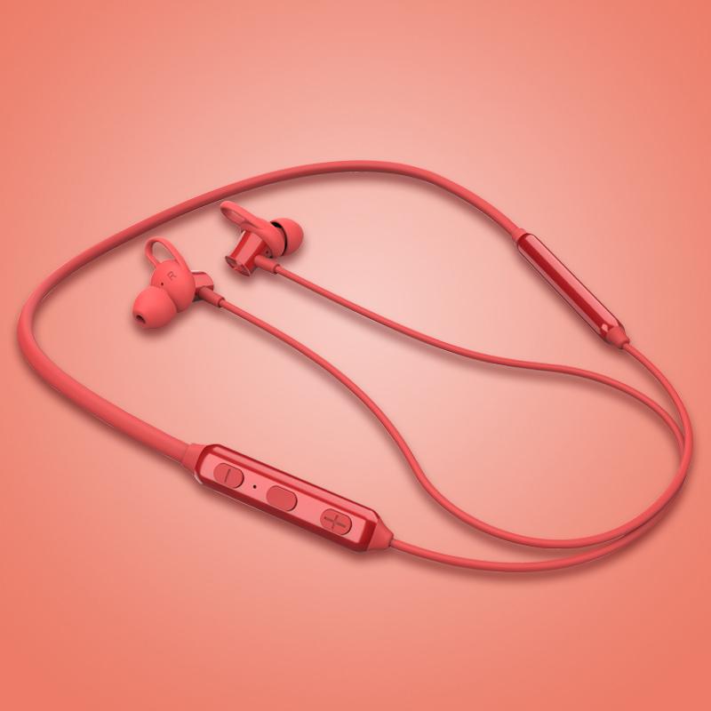 Edifier/漫步者 W200BT蓝牙耳机挂脖式无线双耳颈挂式运动型跑步入耳式安卓通用防水防汗项圈5.0男女颈挂版