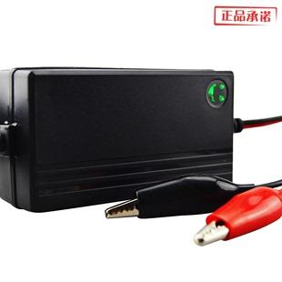 促销 踏板摩托车电瓶蓄电池充电机12V充电器显示电量修复功能