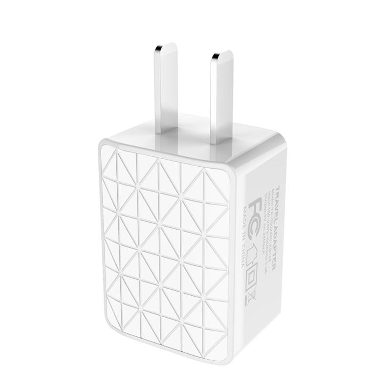 浩设计苹果充电器多口usb快速快充安卓手机通用小米5三星ipad插头