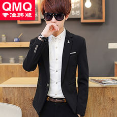 Autumn Youth Small Suit Men's Casual Jacket Men Korean Slim Hair Stylist Suit Student Handsome Outerwear