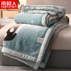 Antarctic Raschel blanket quilt winter blanket coral fleece flannel sheets thick warm mattress double layer