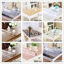 桌子铺在上的子PVC防水桌布软质玻璃防烫塑料餐桌垫茶几px布垫