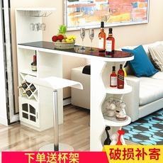 Home bar table simple modern bar table wine cabinet living room dining room partition cabinet simple wall small bar