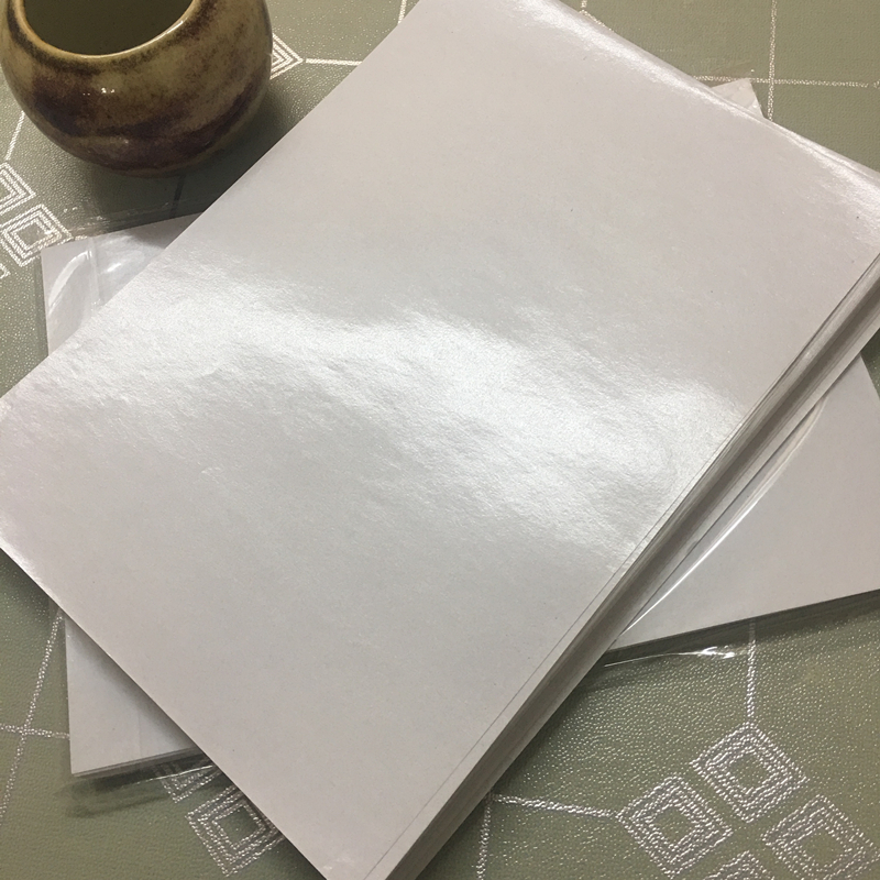 A4离型纸 双面离型纸防粘纸隔离纸手帐日付剪纸和纸胶带100张包邮
