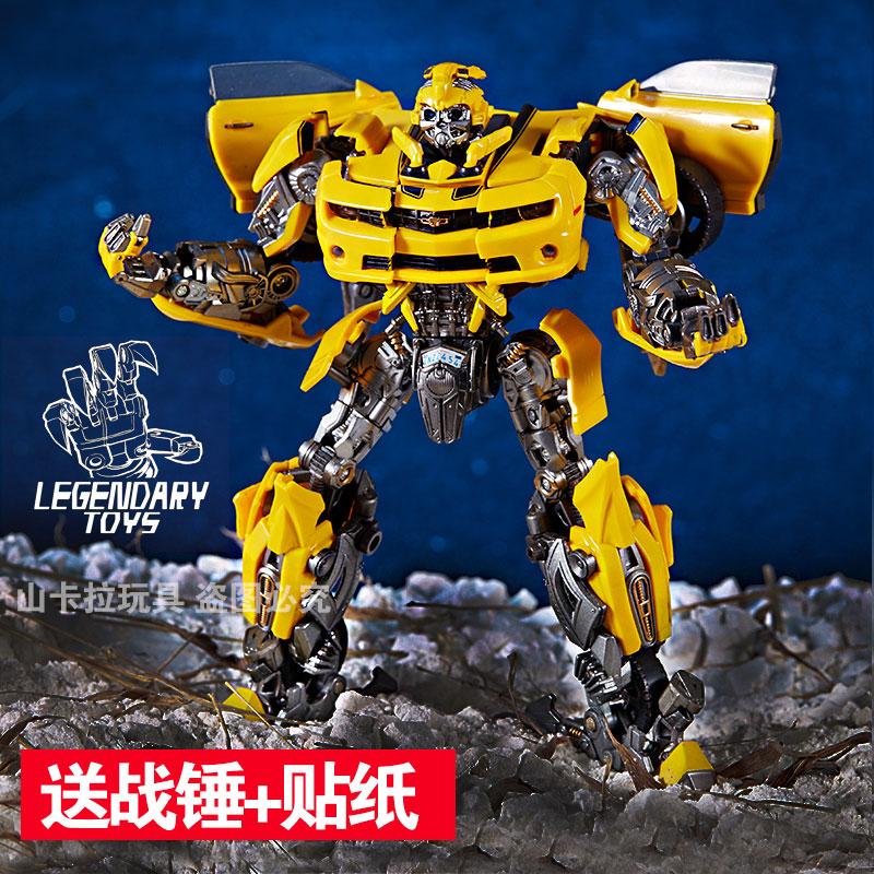 威将变形玩具金刚5电影KO版 LT02擎天op柱MPM04 LT01大黄蜂mpm03