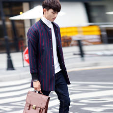 Full 48 yuan shipping 2018 autumn new men's student youth woolen coat