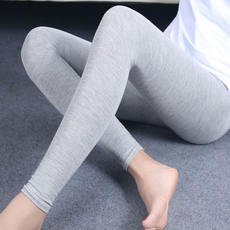 Women's Quilts Modal Single Wear Autumn Pants Cotton Warm Pants Slim Thin Cotton Leggings