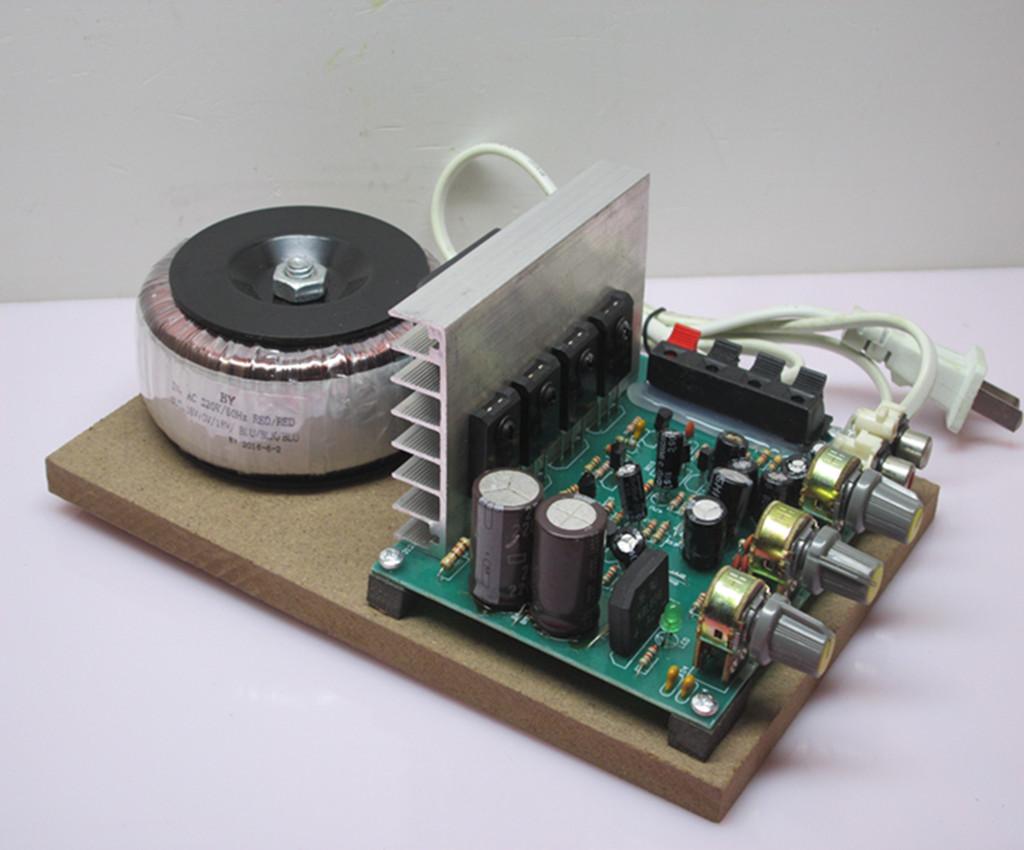 220伏大环牛功放机家用电脑2.0有源diy功放板音响大功率主板