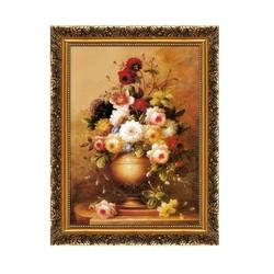 欧式有框古典画装饰画客厅画餐厅玄关挂画家居壁挂画喷绘仿真油画