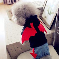 小型犬宠物贵宾犬比熊泰迪狗狗衣服秋装秋冬装四脚衣卫衣