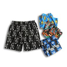 R11-V104 Europe and the United States single summer men wear home sports loose youth big pants three shorts beach