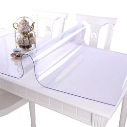 写字垫子桌面透明塑料桌垫垫板餐厅桌上吃饭防烫餐垫包邮防油胶垫