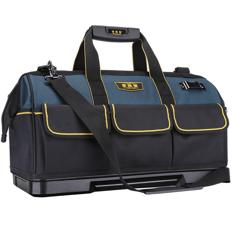 手提工具包多功能维修帆布大加厚工具袋耐磨安装便携小号电工专用