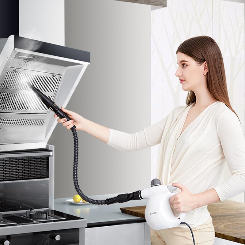 苏泊尔蒸汽清洁机高压高温家电多功能手持式油烟机空调油污清洗机