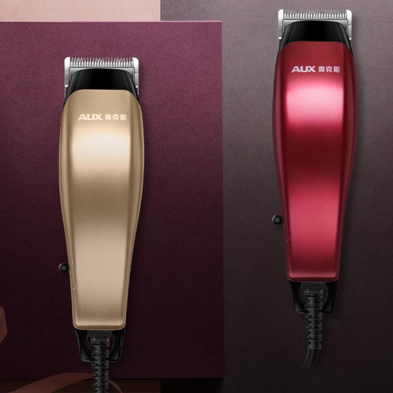 奥克斯理发器带线电推剪推子成人剃头刀发廊理发店专用专业插电式