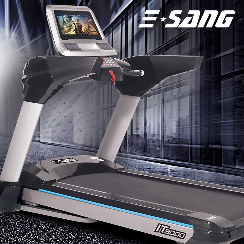 【美国品牌】伊尚跑步机家用款健身器材多功能静音折叠减震跑步机