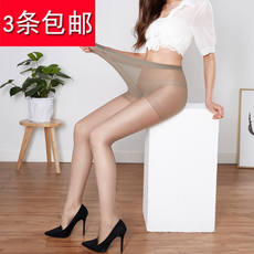 10D female thin pantyhose plus file plus fertilizer to increase anti-hook silk long code stockings fat mm summer 200 pounds