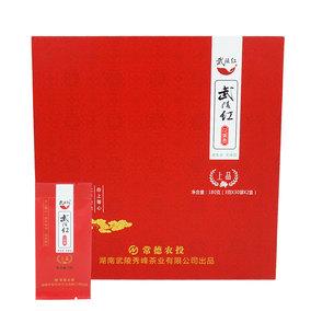湖南石門壺瓶山特級禮盒裝石門特產武陵紅花果香紅茶180g上品茶葉
