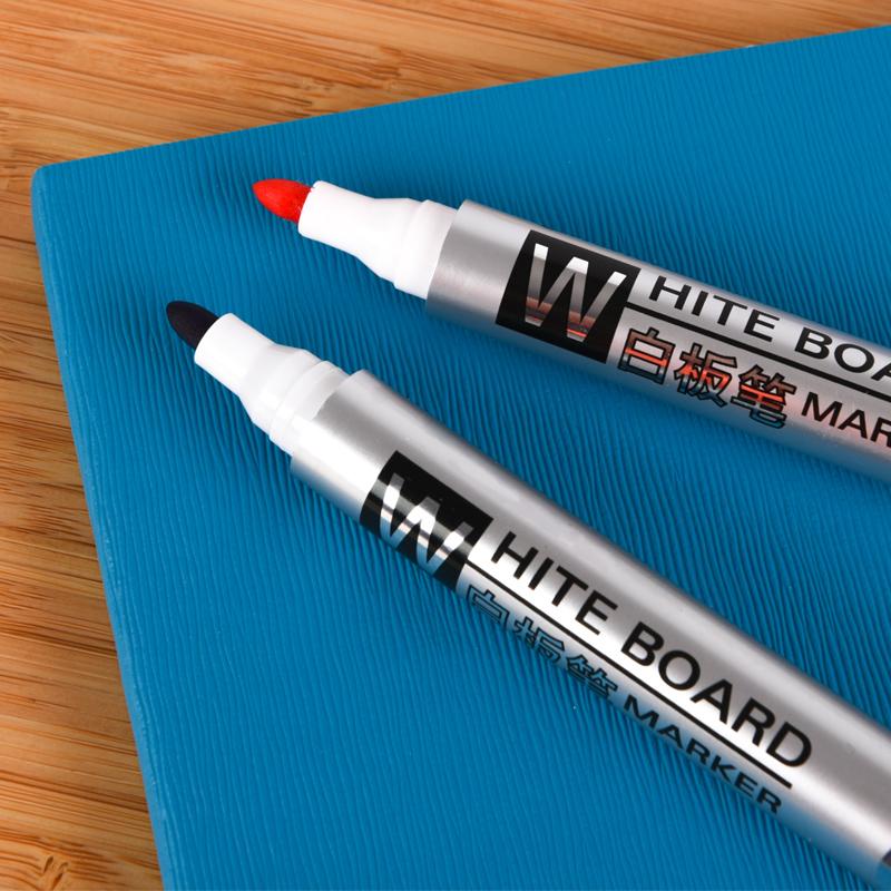 白板笔黑色水性可擦儿童无毒彩色红蓝黑板笔办公用品文具批发