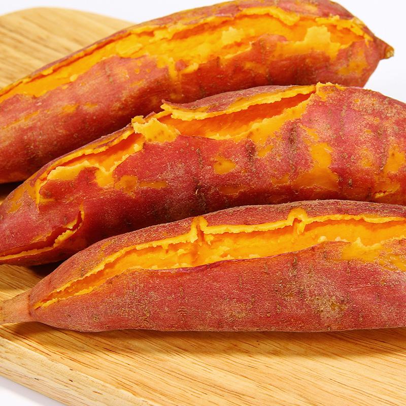 沙地六鳌红蜜薯红心红薯新鲜 地瓜新鲜农家自种小番薯新鲜小红薯
