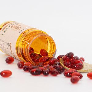 艾康沙棘油凝胶糖果非特级甘肃野生沙棘原料80粒软胶囊状沙棘果油