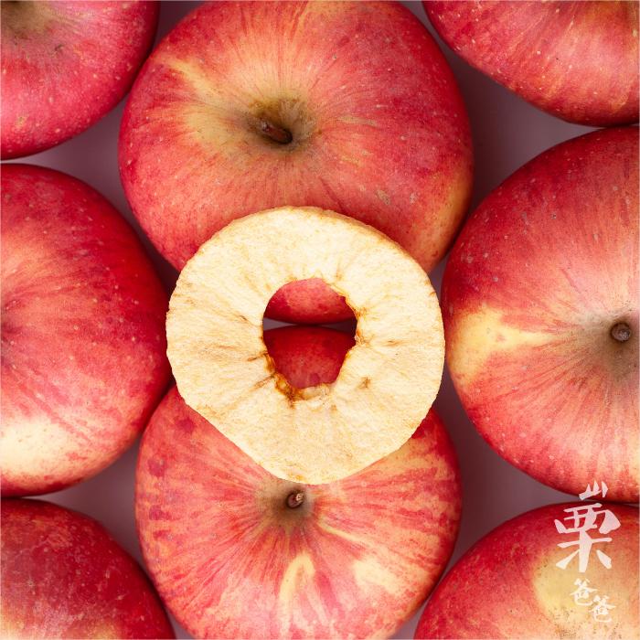 山栗爸爸 三个苹果无添加苹果脆片30克/袋 5袋包邮 脱水苹果片