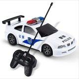 儿童电动遥控警车可充电遥控汽车小男孩宝宝小玩具警车公安特警车