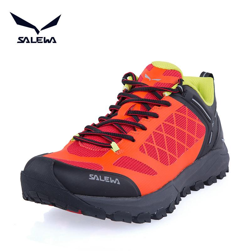 沙乐华salewa新品运动户外男鞋缓震耐磨登山鞋透气徒步鞋81005