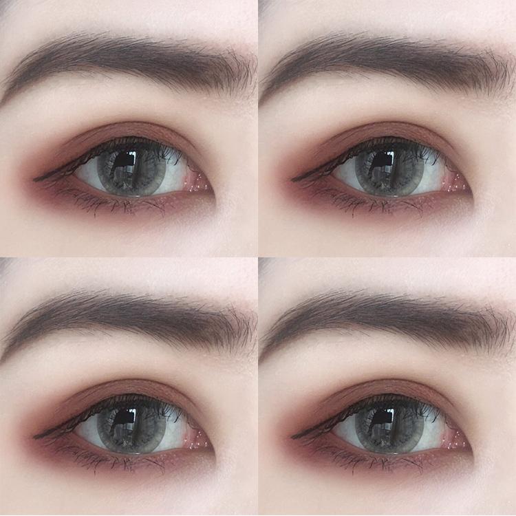 眼影哑光ins超火新款网红裸妆韩国初学者少女眼影盘大地色裸色