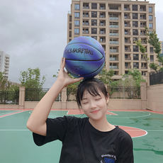 Basketball girl Rose adult woman indoor and outdoor 6th feeding play? Wear-resistant non-slip personality seventh basketball