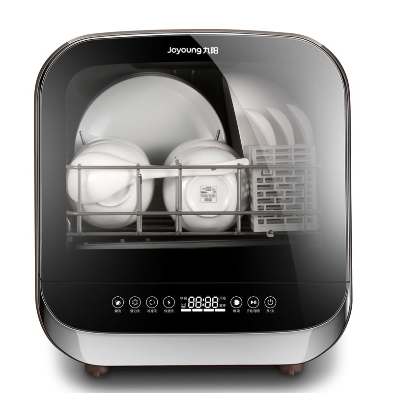 joyoung/九阳X5免安装家用台式洗碗机全自动智能烘干除菌可领取领券网提供的90元优惠券