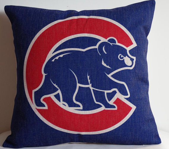 Foreign trade team Chicago Cubs fans pillow Chicago Cubs pillowcase