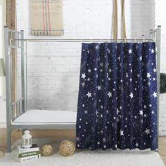 小窗帘短窗免安装挂帘厕所床帘打孔片女生伸缩杆儿童房家用半截飘