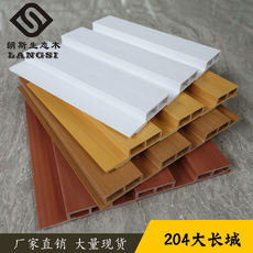 Ecological wood Great Wall board 195 transfer film siding ceiling Guangdong factory direct home decoration balcony ceiling