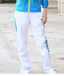 中国国家队运动员薄款运动裤武术散打跆拳道教练领奖服白色长裤